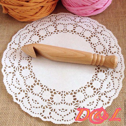 Вязание ручной работы. Ярмарка Мастеров - ручная работа. Купить Крючок для толстой пряжи номер 25, 30. Handmade. Крючок