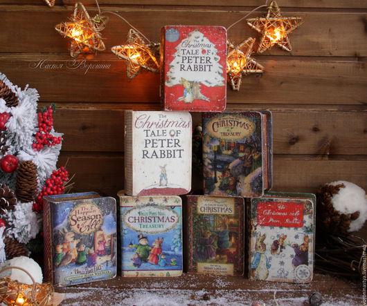 Новый год 2017 ручной работы. Ярмарка Мастеров - ручная работа. Купить Новогодние сказки Beatrix Potter и Susan Wheeler. Handmade.