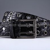 Аксессуары handmade. Livemaster - original item Strap crocodile leather IMA3125B2. Handmade.