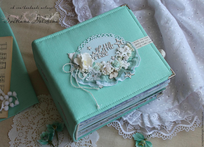 Album for a newborn baby' Littie prince'baby mint, Fun, Tyumen,  Фото №1