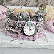 Украшения handmade. Livemaster - original item Boho watches,stylish with Jasper