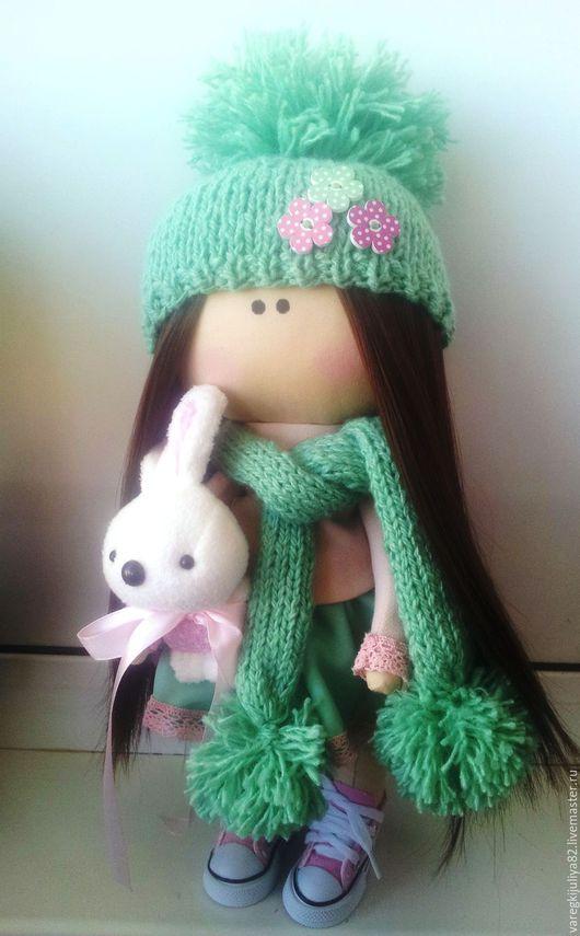 Куклы Тильды ручной работы. Ярмарка Мастеров - ручная работа. Купить Интерьерная кукла. Handmade. Зеленый, интерьерная игрушка, кукла