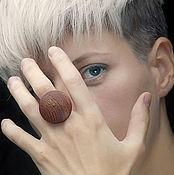 Украшения ручной работы. Ярмарка Мастеров - ручная работа Перстень круг (объемная форма). Handmade.