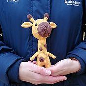 Мягкие игрушки ручной работы. Ярмарка Мастеров - ручная работа Жирафик. Handmade.