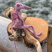 Мягкие игрушки ручной работы. Ярмарка Мастеров - ручная работа Крыса. Handmade.