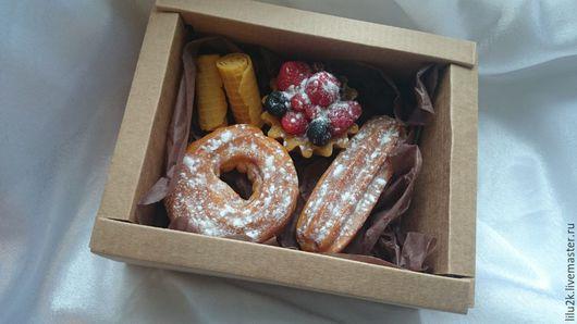 Подарочный набор мыла. Печенье и пирожные