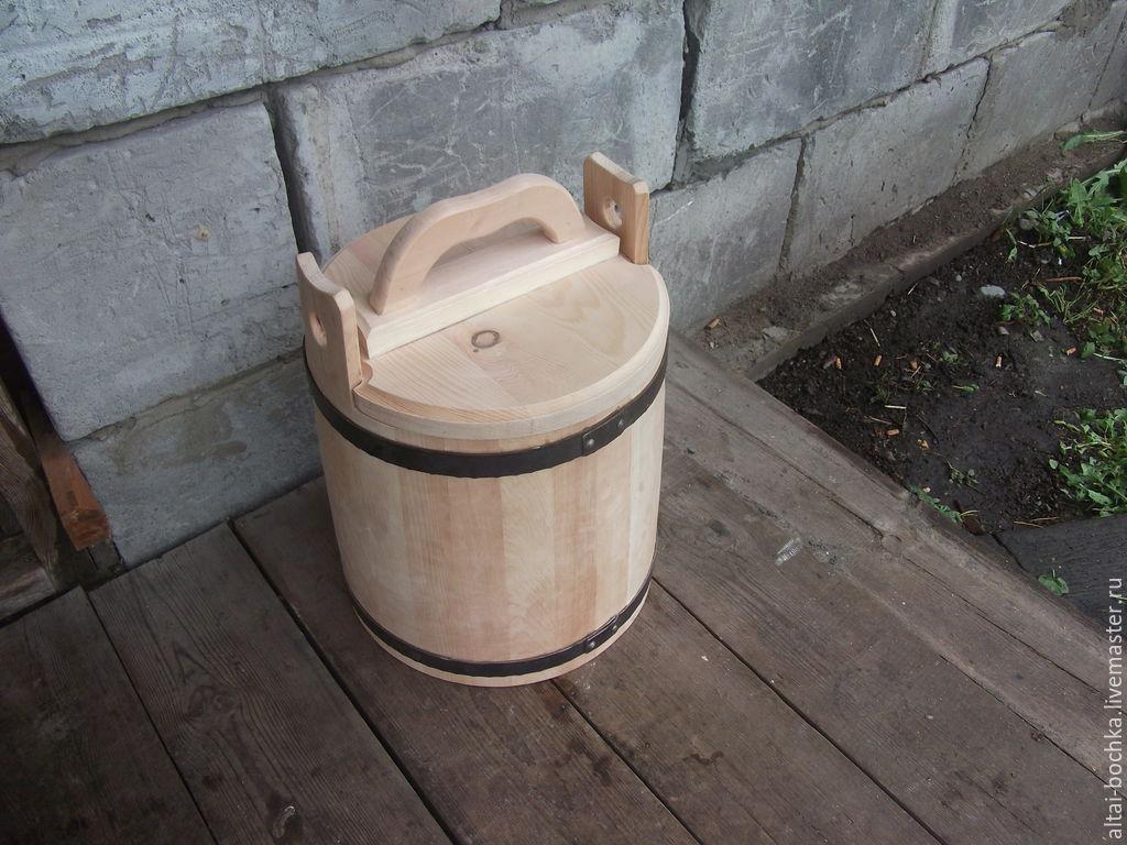 Кадка-ушат для соления 20л, Кухня, Горно-Алтайск, Фото №1