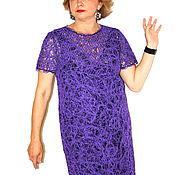 Одежда ручной работы. Ярмарка Мастеров - ручная работа Платье Violett. Handmade.
