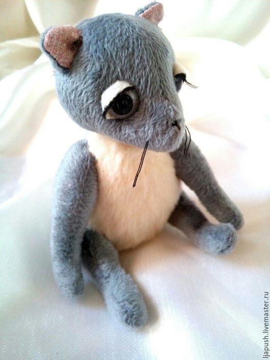 Мишки Тедди ручной работы. Ярмарка Мастеров - ручная работа. Купить волчонок. Handmade. Серый, игрушка в подарок, подарок женщине