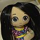 Куклы тыквоголовки ручной работы. Ярмарка Мастеров - ручная работа. Купить Рокси. Handmade. Разноцветный, кукла, кукла текстильная, doll
