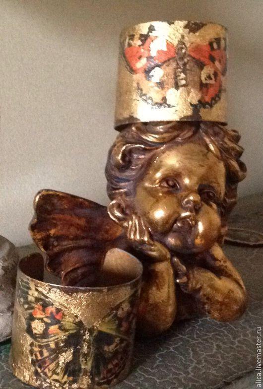 """Зеркала ручной работы. Ярмарка Мастеров - ручная работа. Купить Браслет """" Бабочки"""". Handmade. Золотой, магия, любовь, любимой"""
