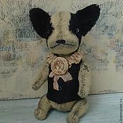 Куклы и игрушки ручной работы. Ярмарка Мастеров - ручная работа Монами, французский бульдог. Handmade.
