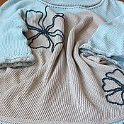 Одежда ручной работы. Ярмарка Мастеров - ручная работа Пуловер Прохлада. Handmade.