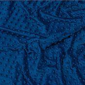 Материалы для творчества ручной работы. Ярмарка Мастеров - ручная работа Плюш минки, Польша, темно-синий ЦЕНА ЗА ПОЛ МЕТРА. Handmade.