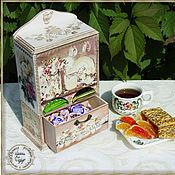 Для дома и интерьера handmade. Livemaster - original item The cupboard for tea bags. Handmade.