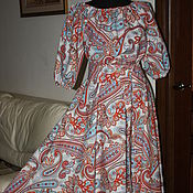 """Одежда ручной работы. Ярмарка Мастеров - ручная работа Платье """"Восточный мотив"""". Handmade."""