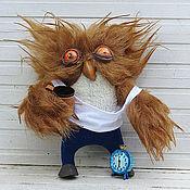Куклы и игрушки ручной работы. Ярмарка Мастеров - ручная работа тяжелое утро...Сонная сова. Handmade.