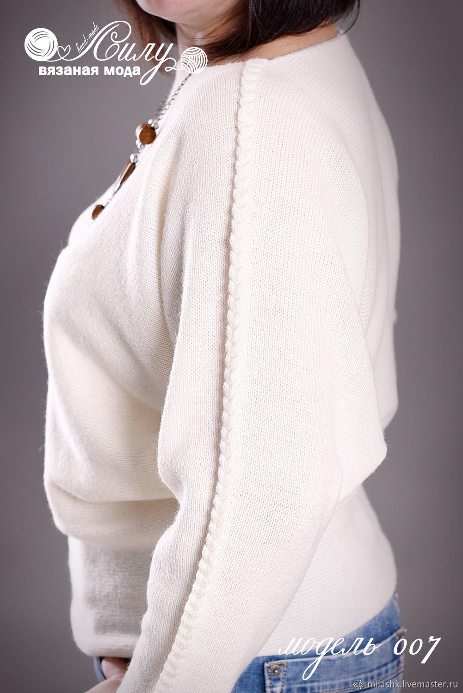 Вязаный свитер летучая мышь, Свитеры, Белгород,  Фото №1