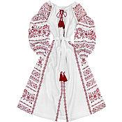 """Одежда handmade. Livemaster - original item Платье-вышиванка """"Тайное Желание"""". Handmade."""