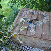 """Для дома и интерьера ручной работы. Ярмарка Мастеров - ручная работа Короб  """"Венок  из ромашки"""". Handmade."""