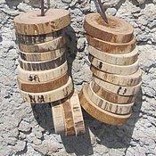 """Куклы и игрушки ручной работы. Ярмарка Мастеров - ручная работа Шнуровка """"Кольца"""", деревянная игрушка. Handmade."""