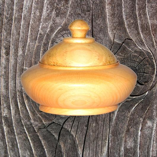 Кухня ручной работы. Ярмарка Мастеров - ручная работа. Купить Деревянная кубышка из сибирского кедра для Мёда, варенья или проч. К32. Handmade.