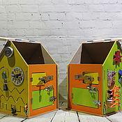 """Бизиборды ручной работы. Ярмарка Мастеров - ручная работа Бизиборд """"Домик"""". Handmade."""