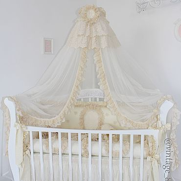 Товары для малышей ручной работы. Ярмарка Мастеров - ручная работа Бортики в кроватку. Handmade.