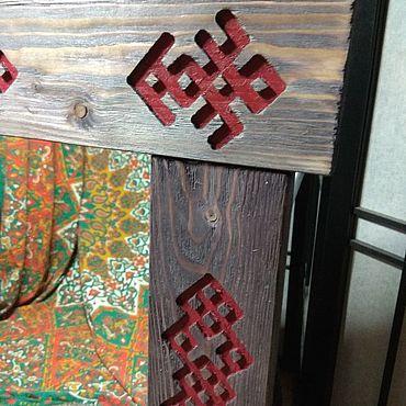 Для дома и интерьера ручной работы. Ярмарка Мастеров - ручная работа Зеркала с Русским орнаментом. Handmade.