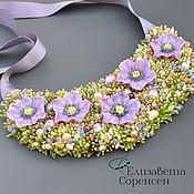 Украшения handmade. Livemaster - original item Necklace: Blooming garden. Handmade.