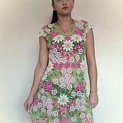 Одежда ручной работы. Ярмарка Мастеров - ручная работа весенние цветы. Handmade.