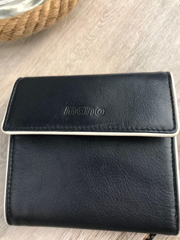 Mano Polo wallet, genuine leather, Europe, Vintage Souvenirs, Arnhem,  Фото №1