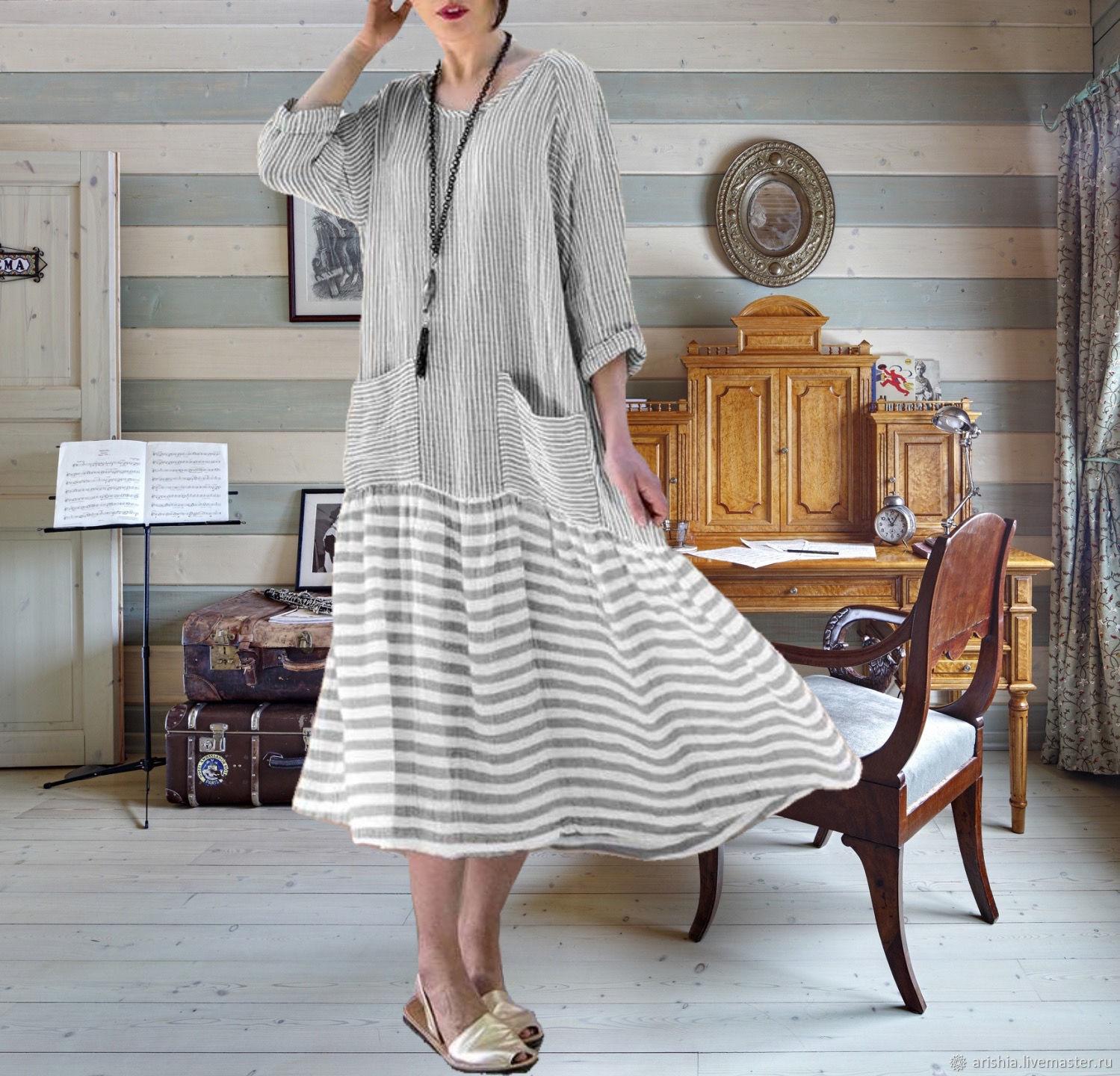 Платье в стиле 20х -оверсайз, Платья, Орехово-Зуево,  Фото №1