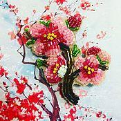Украшения ручной работы. Ярмарка Мастеров - ручная работа Цветущая сакура. Handmade.