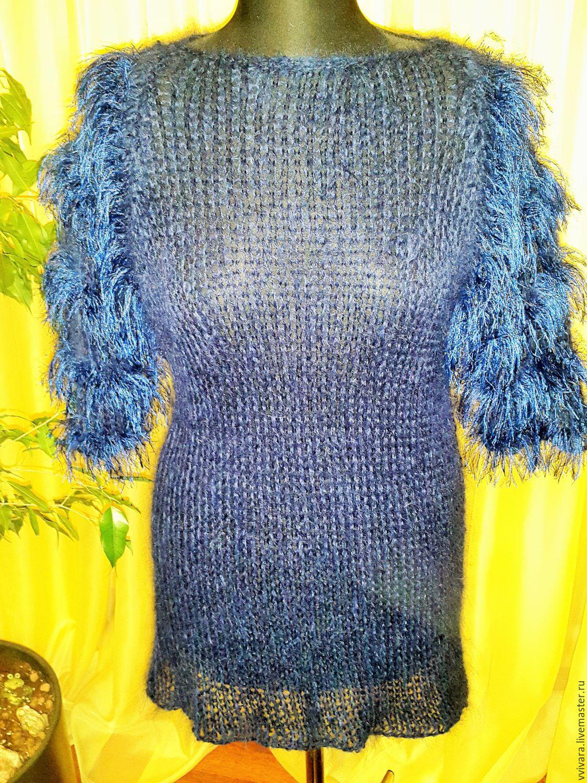 путанкой вязание туник