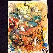 Картины и панно handmade. Livemaster - original item Fine line.. Handmade.
