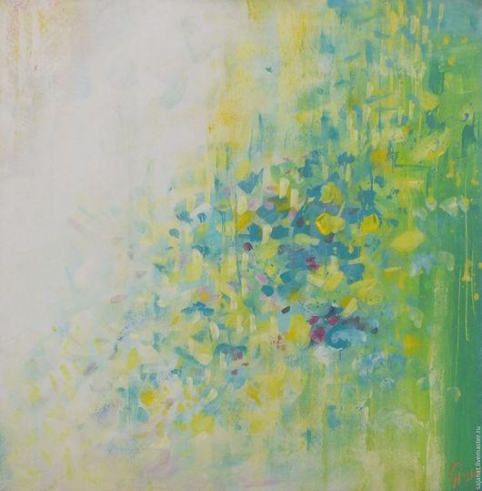 Абстракция ручной работы. Ярмарка Мастеров - ручная работа. Купить Без названия №3. Handmade. Картина, картина в подарок