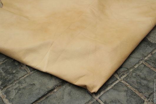 Шитье ручной работы. Ярмарка Мастеров - ручная работа. Купить № 10.9 Шкура.Fissato Ivory Marrakesh.4.5м.3кг.1мм.Натуральная кожа. Handmade.