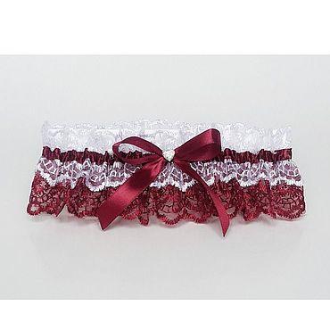 Свадебный салон ручной работы. Ярмарка Мастеров - ручная работа Подвязки: подвязка невесты. Handmade.
