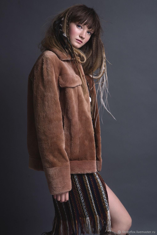 Beaver fur bomber jacket, Fur Coats, Moscow,  Фото №1