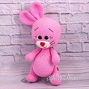 Куклы и игрушки handmade. Livemaster - original item Knitted Bunny crochet amigurumi. Handmade.