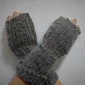 Аксессуары handmade. Livemaster - original item Fingerless gloves women`s Fingerless gloves made of goat down. Handmade.