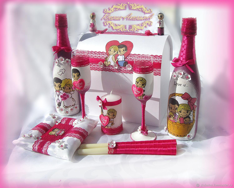 Wedding set Love is, Sets accessories, Chelyabinsk,  Фото №1