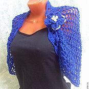 Одежда handmade. Livemaster - original item Of openwork shrug-Bolero