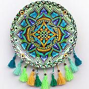 Посуда handmade. Livemaster - original item Mandala with tassels