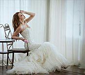 Платья ручной работы. Ярмарка Мастеров - ручная работа Свадебное платье с вышивкой.. Handmade.