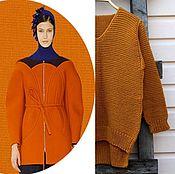 Одежда handmade. Livemaster - original item Sweater knitting wool