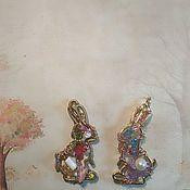 Кулон ручной работы. Ярмарка Мастеров - ручная работа Кулон: Заяц. Handmade.