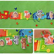 Куклы и игрушки ручной работы. Ярмарка Мастеров - ручная работа Развивающая игрушка Застежки. Handmade.