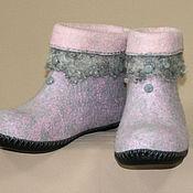 Обувь ручной работы handmade. Livemaster - original item Women`s valenki for home Charm. Handmade.
